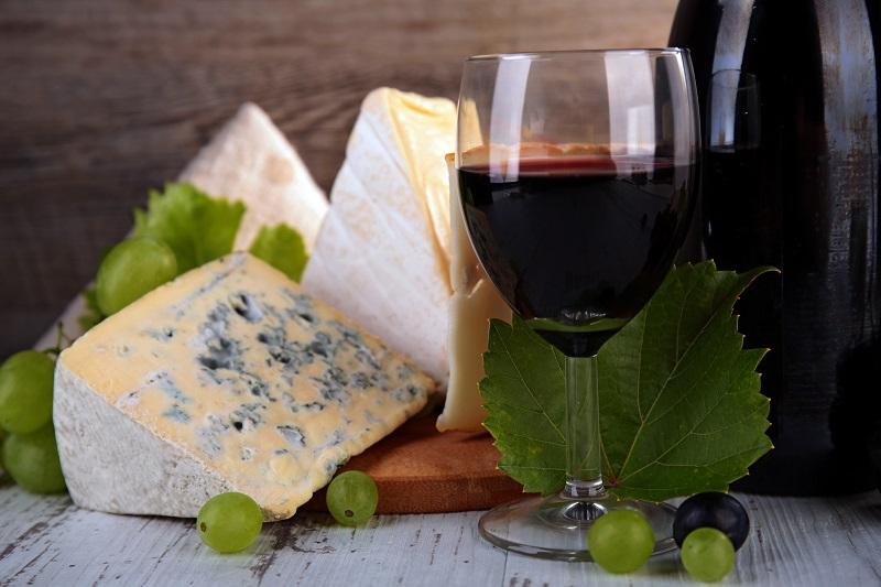 maridaje entre quesos y vinos