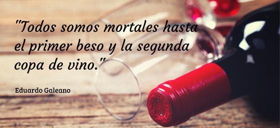 frases de vino Galeano