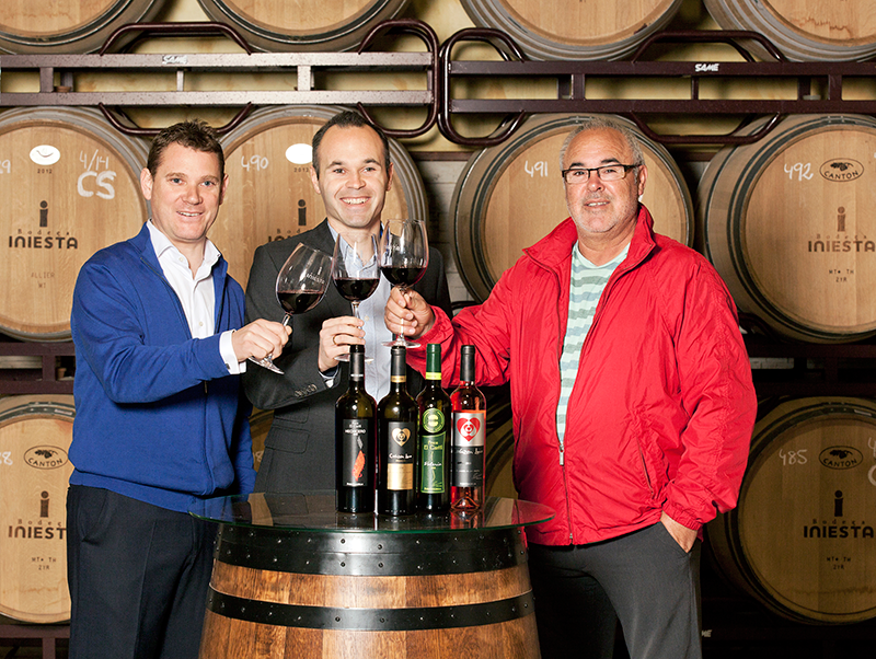 famoso amantes del vino - andres inieseta