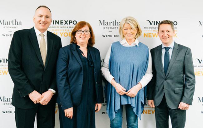 martha stewart en vinexpo 2018